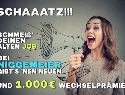 Arbeite für uns & wechsle Dich reich!