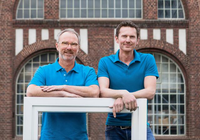 Klaus Niggemeier und Patrick Broermann